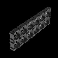 Держатель кронштейн аккумуляторного блока 18650 1*2