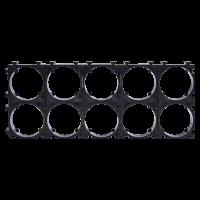Держатель кронштейн аккумуляторного блока 18650 2*5