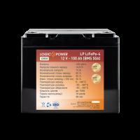 Аккумулятор LogicPower Lifepo4 12V-100Ah (BMS 50А) пластик