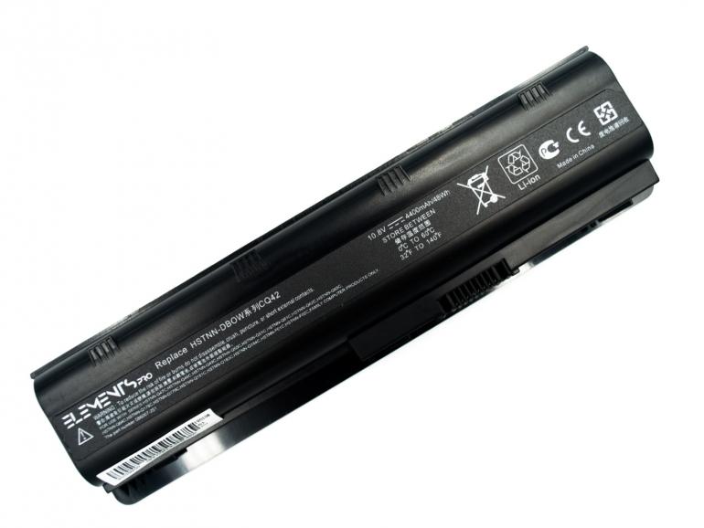 Батарея Elements PRO для HP CQ32 CQ42 CQ62 G62 G72 G42 HSTNN-181C 10.8V 4400mAh