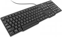 Клавиатура Logitech K100 PS/2 Black