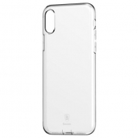 Чехол Baseus для iPhone X/Xs Pluggy TPU Transparent