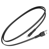 Кабель Baseus Tough USB 2.0 to Lightning 2A 1M Черный