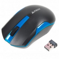 Мышь A4Tech G3-200N Wireless Black/Blue