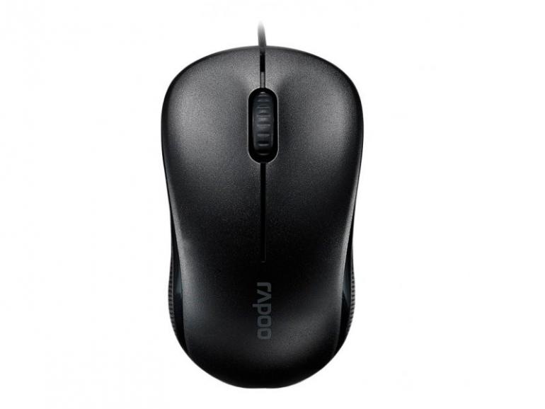 Мышь Rapoo N1130 USB Black