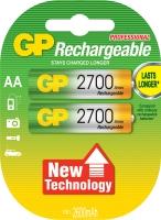 Аккумуляторная батарейка GP Professional AA 1.2V 2700mAh 2шт.