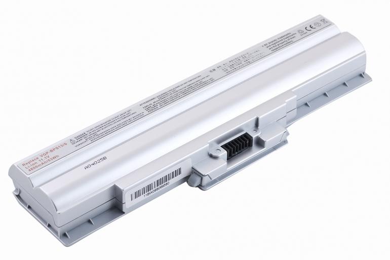 Батарея для ноутбука Sony VAIO VGN AW BZ CS FW NS SR VPCCW VPC-M 11.1V 4400mAh, серая