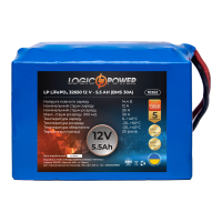 Аккумулятор LogicPower Lifepo4 12V-90Ah (BMS 30A)