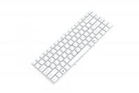 Клавиатура для ноутбука Sony VPC-EA Series белая без рамки Прямой Enter