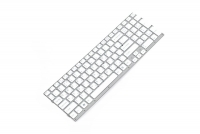 Клавиатура для ноутбука Sony VPC-EC Series белая без рамки Прямой Enter