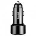 Автомобильное зарядное устройство Baseus Magic Series Dual QC 3.0 45W Черный