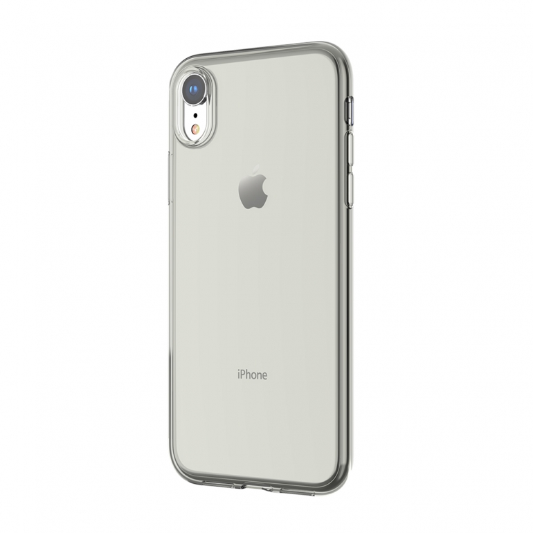 Чехол Devia для iPhone Xr Naked Прозрачный Черный