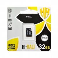 Карта памяти Hi-Rali microSDHC 32GB Class 10 UHS-1