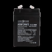 Аккумулятор LogicPower AGM LPM 6-5.2 AH