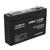 Аккумулятор LogicPower AGM LPM 6-7.2 AH