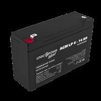 Аккумулятор LogicPower AGM LP 6-14 AH SILVER