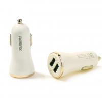 Автомобильное зарядное устройство Remax Dolfin USBx2 2.4A/1A Gold