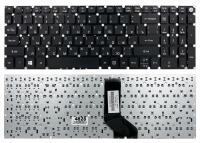 Клавиатура для ноутбука Acer Aspire E5-523 E5-553 E5-573 E5-722 E5-752 E5-773 F5-521 ES1-533 V5-591G черная без рамки прямой Enter PWR