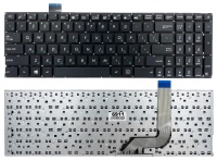 Клавиатура для ноутбука Asus VivoBook X542 X542B X542U X542UN X542UA X542UQ X542UF X542UR A542 K542 PWR черная без рамки Прямой Enter