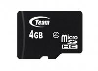 Карта памяти Team microSDHC 4GB Class4