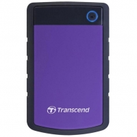 Внешний HDD Transcend StoreJet 25 H3 4TB USB3.0 Black/Purple