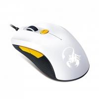 Мышь Genius M6-600 Scorpion Gaming USB White/Yellow