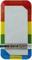 Защитная пленка Remax для iPhone 5/5S/5SE (front + back) Pure Sticker White