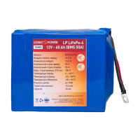 Аккумулятор LogicPower Lifepo4 12V-60Ah (BMS 50A/25A)