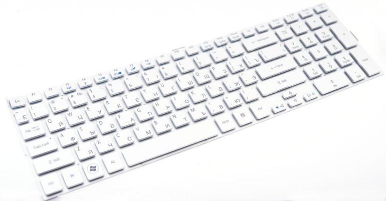 Клавиатура для ноутбука Acer Aspire 5943G 5943 5950G 5950 8943G 8943 8950G 8950 серая