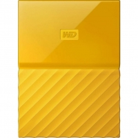 Внешний HDD Western Digital My Passport 1TB USB 3.0 Yellow