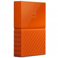 Внешний HDD Western Digital My Passport 2TB USB 3.0 Orange