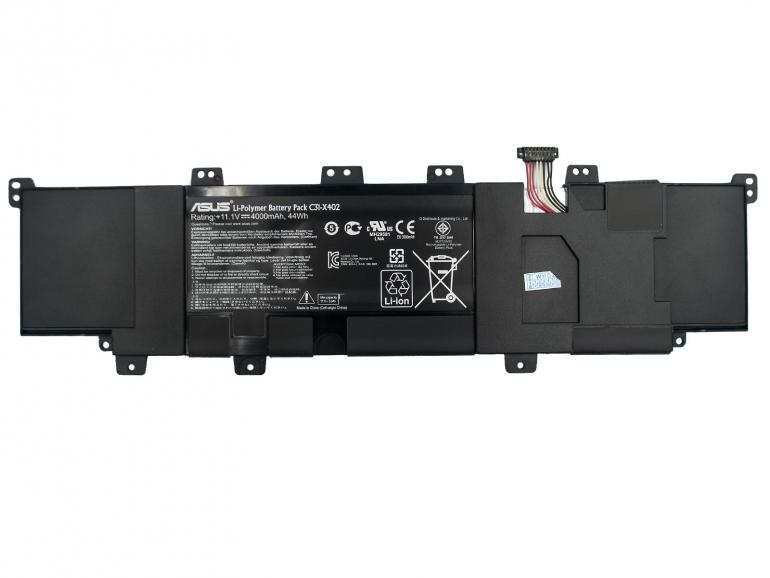 Батарея Asus X402 X402CA VivoBook S300C S300CA S400C S400CA S400E 11,1V 4000mAh