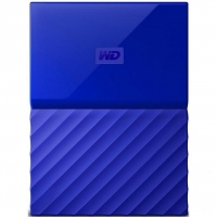 Внешний HDD Western Digital My Passport 3TB USB 3.0 Blue