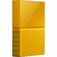 Внешний HDD Western Digital My Passport 3TB USB 3.0 Yellow