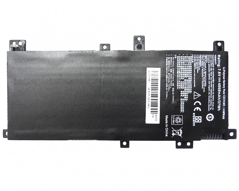 Батарея для ноутбука Asus A455LD X455LA K455L F455L R455LD VM410L W409L A556U Y483LD 7.6V 4868 mAh