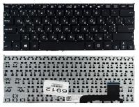 Клавиатура Asus X201 X201E X202 X202E S200 X205T черная без рамки Прямой Enter