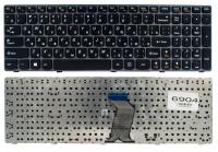 Клавиатура для ноутбука Lenovo IdeaPad G580 G585 Z580 Z585 черная/серая