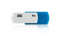 USB накопитель Goodram UCO2 8GB Blue/White