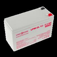 Аккумулятор гелевый LogicPower LPM-GL 12-7.5 AH
