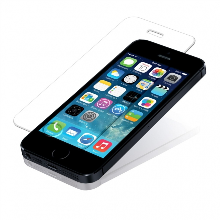 Защитное cтекло Buff для iPhone 5, iPhone 5S, iPhone 5SE, 0.3mm, 9H
