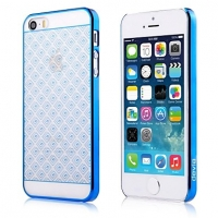 Чехол Devia для iPhone 5/5S/5SE Glimmer Brocade Blue