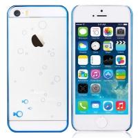 Чехол Devia для iPhone 5/5S/5SE Glimmer Fish Blue