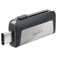 USB накопитель SanDisk Ultra Dual Type-C 128GB OTG Black/Silver