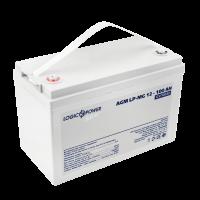 Аккумулятор мультигелевый LogicPower AGM LP-MG 12-100 AH SILVER
