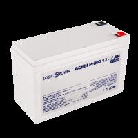 Аккумулятор мультигелевый LogicPower AGM LP-MG 12 - 7 AH SILVER