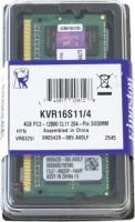 Оперативная память для ноутбука Kingston ValueRAM DDR3-1600 4GB