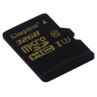 Карта памяти Kingston microSDHC 32GB Gold Class 10 UHS-1 U3