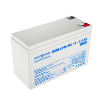 Аккумулятор мультигелевый LogicPower AGM LPM-MG 12-7.5 AH