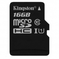 Карта памяти Kingston microSDHC 16GB Canvas Select Class 10 UHS-1