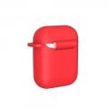 Чехол Devia для наушников AirPods Naked Красный
